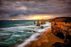 12 Apostles-2 (Quick Shot Photos) Tags: sunset canon au australia victoria helicopter greatoceanroad 12apostles princetown canoncollective