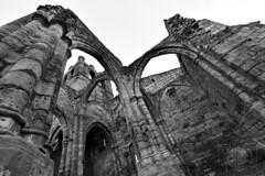Santa Eulalia - Contrapicado (Antonio.Vallano) Tags: iglesia ruinas contraste contrapicado granangular clavealta santaeulalia