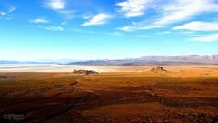 Bakhtegan Lake (1) (Mahmoud R Maheri) Tags: sky cloud mountain lake landscape spring scenery iran hill neyriz bakhtegan bakhteganlake