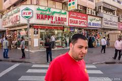 (Dubai Jeffrey) Tags: street dubai pedestrian redshirt zebracrossing happyland alsabkha