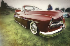 The Sled She's A Red (Steve Walser) Tags: red cars car mercury sled
