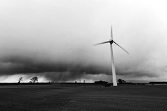 Storm Brewing (maxbryan92) Tags: uk england snow storm nature weather clouds landscape energy power wind lincolnshire cloudscape regional renewable gbr