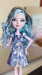 Farrah Goodfairy (NekoKisshuLover) Tags: life blue light silver ball high still doll pretty bright want fairy after ever farrah jointed goodfairy