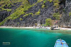 Approaching Talisay Beach (engrjpleo) Tags: travel sea seascape beach water rock landscape island coast seaside outdoor philippines shore elnido palawan waterscape bacuitbay tapiutanisland talisaybeach