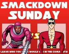 Machine Man VS Plastic Man (Luigi Fan) Tags: man comics dc machine plastic vs marvel