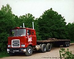 Brockway COE -- Russell Macneil (gdmey) Tags: colorized transportation trucks coe brockway huskie brockwaytruck