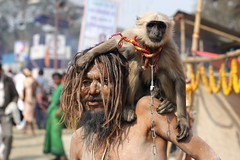 DR1001165 (Dipanjan Roy) Tags: street travel camp india canon colours fair transit kolkata sadhu naga sagar westbengal nagasadhu gangasagar incredibleindia indiansadhu