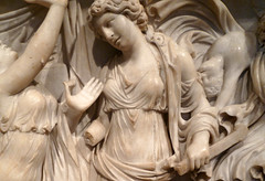 Medea Sarcophagus, detail with sheath