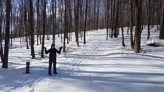 Going for a snow hike