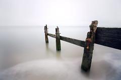 Remains of a Groyne, Seasalter (stevebodey) Tags: sea beach kent long exposure decay groyne whistable seasalter