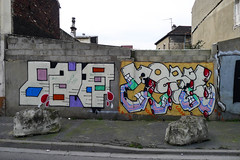 Guess Horfe (Neron One) Tags: graffiti murals pal 93 mur gues sdk wufc horph horf