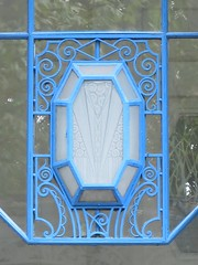 Hôtel Plaza - 9 rue du Parc, Vichy (03) (Yvette G.) Tags: architecture 03 allier vichy hôtel artdéco ferronnerie hôtelplaza