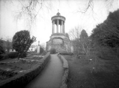 The Other Half (frame) (wheehamx) Tags: delta pinhole 400 frame half alloway