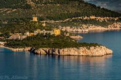 Panoramica della rada di Capo Caccia (antoniosimula) Tags: sardegna panorama hotel nikon porto capo alghero caccia 70300 conte tamaron d3200