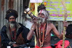 DR1001164 (Dipanjan Roy) Tags: street travel camp india canon colours fair transit kolkata sadhu naga sagar westbengal nagasadhu gangasagar incredibleindia indiansadhu