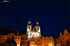 Tnsky Chrm - Staromstsk Namst - Star Msto -Prague- (4) (Million Seven) Tags: life street sky people church architecture night wonder amazing nikon europa europe king prague magic capital religion gothic towers iglesia style praha praga panoramic medieval mysterious imperial czechrepublic renovation dali baroque bohemia middleages tynchurch 14thcentury tyn staromestskenamesti staremesto repblicacheca starmsto tynskychram 1256 peterparler tnskychrm matjrejsek janahusa georgeofpodebrady janhusmemorial staromstsknamst eskrepubliky narodnigalerie nrodngalerie ceskerepubliky thechurchofourladybeforetn matthiasofarras pomnkmistrajanahusa templodetyn nikond3100 millionseven georgeofpodbrady templeoftyn matejrejsek muchawarhol klmentgottwald