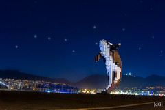 Vancouver's Digital Orca Vs. Ursa Major (Daniel's Clicks) Tags: canada vancouver bc britishcolumbia astronomy orca yvr ursamajor constellation vancity beautifulbc explorebc ilovebc vancitybuzz digitalorca