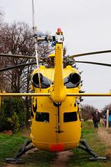 Helicopter-Einsatz in Flonheim (siggi herler) Tags: helicopter christoph adac hubschrauber bk117 luftrettung gelbeengel flonheim dhsma
