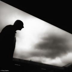 man at Oxford station (TonyCearns) Tags: street leica bw tension m9 darkstreet