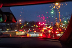 Weather (Tony__K) Tags: leica abstract color rain weather night driving nightshot bokeh q summilux f17 bokehlicious