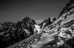Trace Solitaire (Frdric Fossard) Tags: alpes altitude ombre glacier neige chamonix pente alpinisme cime hautesavoie chardonnet crtes petiteaiguilleverte massifdumontblanc aiguilledargentire colduchardonnet artes