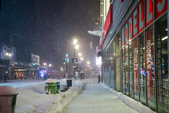 NYC 2016 (Gabriel Etienne) Tags: new york city winter snow skyline brooklyn buildings queens blizzard manhatten