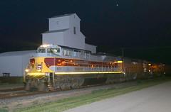 Waterman Wanderer (JayLev) Tags: heritage ns elevator grain waterman bnsf lackawanna unit