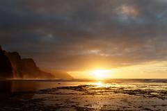 DSC03464_DxO gedreht_Grennderung (Jan Dunzweiler) Tags: sunset beach strand hawaii sonnenuntergang sundown jan kauai kee keebeach keebeach dunzweiler kee jandunzweiler