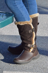 2015-12-19 (36) r7 boots at Laurel Park (JLeeFleenor) Tags: girls woman brown photography donna md shoes boots photos femme mulher maryland racing jeans footwear frau vrouw buckles dona laurelpark wanita  tightjeans   kvinne   nainen kobieta footgear   kvinde ena  kvinna kadn n lamujer    marylandhorseracing  marylandracing ngiphn