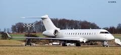 OE-INL GLOBAL EXPRESS 5000 (douglasbuick) Tags: plane private scotland airport nikon edinburgh flickr aircraft aviation jet express 5000 executive global egph d40 oeinl