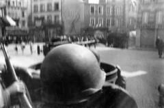 119A-BW-FrenchLiberation1 (ArgyleMJH) Tags: france brittany wwii worldwarii ww2 90mm 1944 worldwar2 francais halftrack usarmy breakout secondeguerremondiale antiaircraftartillery thirdarmy armeamricaine 2emeguerremondiale august1944 119thaaagunbn