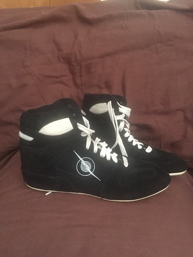 409ea012a3b Mike Deanna lightnings for sale size 8  wrestling  wrestlingshoes  rare   vintage