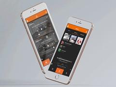 JBL multi-room music app (ijstheedribbble) Tags: inspiration apple design tv graphic screensaver popular dribbble iftt