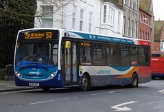 Stagecoach South 37271 (SL64 HXF) Chichester 4/2/16 (jmupton2000) Tags: uk bus sussex south route 200 coastline alexander dennis 53 dart wittering stagecoach 52 enviro southdown sl64hxf