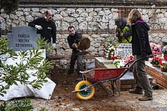 Exhumación Guadalajara