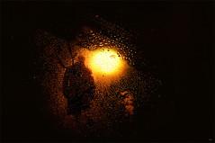 """Towards the light..."" (Ilargia64) Tags: light shadow abstract man texture silhouette drops darkness destiny layers waterdrops towardsthelight amayasanchez"
