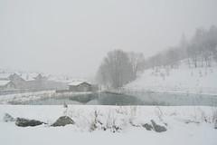 Quando fa freddo - When it's cold. (sinetempore) Tags: winter white snow reflection landscape lago neve inverno bianco paesaggio riflesso bardonecchia lae melezet whenitscold quandofafreddo