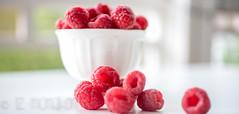 Summer addiction... (Liz McMahon) Tags: summer food fruit 10 depthoffield raspberry berrie 52in2016