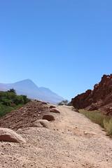 Walk the Path (Alison Claire~) Tags: chile travel travelling nature america canon de landscape outdoors eos volcano sand san desert outdoor path south pedro atacama traveling canoneos 600d licancabur canoneos600d
