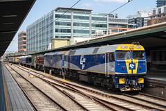"""2016-02-09 Espee FL220-44209-4807 Central 9L30 (Dean """"O305"""" Jones) Tags: railroad station central sydney railway boyd act services munro espee arhs 4807 44209 cfcla fl220"""
