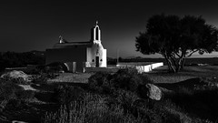 IMA_1816SE Evening light at Agia Anna (foxxyg2) Tags: light bw church monochrome mono blackwhite religion aegean churches chapels greece greekislands cyclades naxos islandhopping islandlife agiaanna niksoftware silverefex