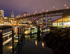 Glowing Granville Island (Spencer Finlay) Tags: