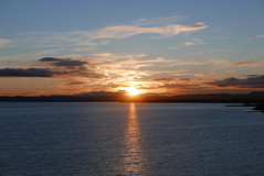 Days End (notsophotogenic1) Tags: park sunset reflection nature clouds river landscape riverside dundee tay