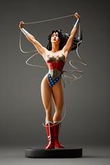truthmaker (desertdragon) Tags: statue wonderwoman adamhughes dccovergirls