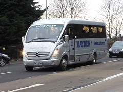 GM12 GSM (Cammies Transport Photography) Tags: road england bus mercedes benz scotland coach edinburgh rugby v gsm minibus specials corstorphine maynes gm12 gm12gsm