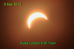 Solar partial eclipse on 9 Mar 2016 (Lim SK) Tags: sun moon solar eclipse partial