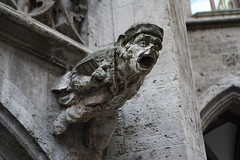 20160106-DSC05310.jpg (DitchTheMap) Tags: old city travel sculpture detail art history church monument face statue stone mystery architecture germany munich mnchen de outdoors bayern design town hall carved ancient europe flickr symbol head antique decorative traditional gothic decoration nobody medieval historic gargoyle ornament protection chimera marienplatz westerneurope 2016