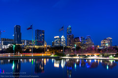 58/365.2016 Leap Day Austin (OscarAmos) Tags: reflection water night austin texas hdr 18200mm photomatix tonemapped detailenhancer topazadjust project3652016 nikond7200 oscaramosphotography