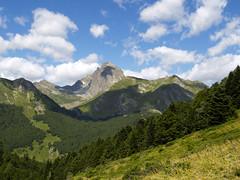 Widok w kierunku Pic Midi Ossau
