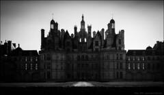Chambord variations - silhouette (Paucal) Tags: france castle de la unesco chambord loire blois chteaux hassy 503cw cfe80 cfv39